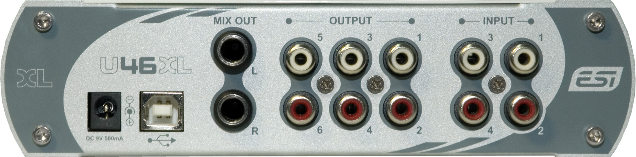 4-in/4-out PCI Audio Interface