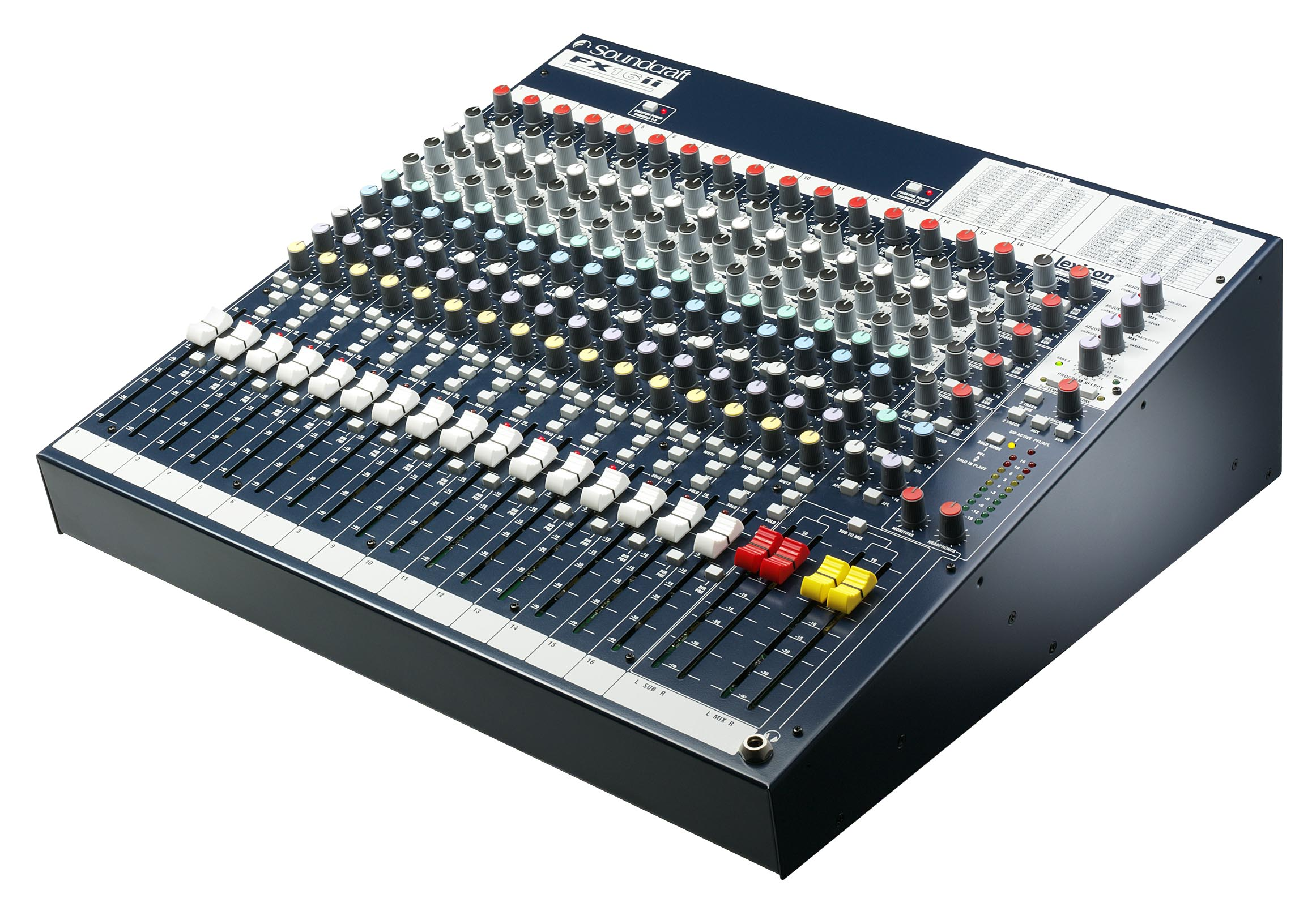 Soundcraft Spirit Fx16ii Sound 7