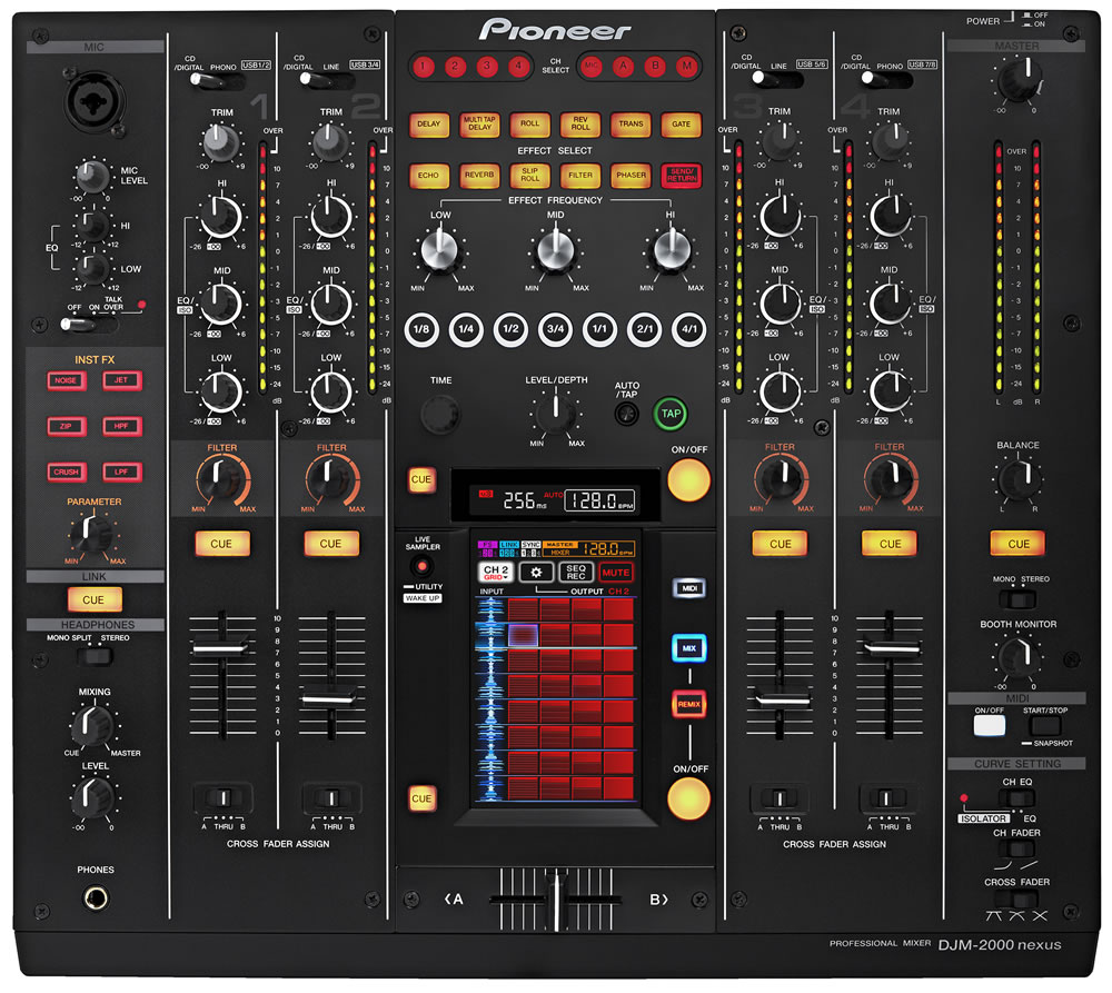 pioneer djm 2000 nexus sound 7. Black Bedroom Furniture Sets. Home Design Ideas