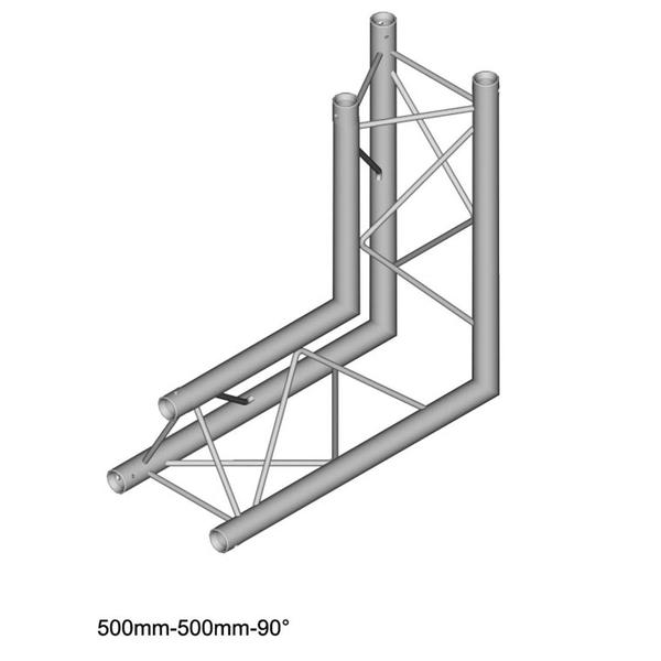 duratruss dt23 angle 90 u00b0 vertical apex down