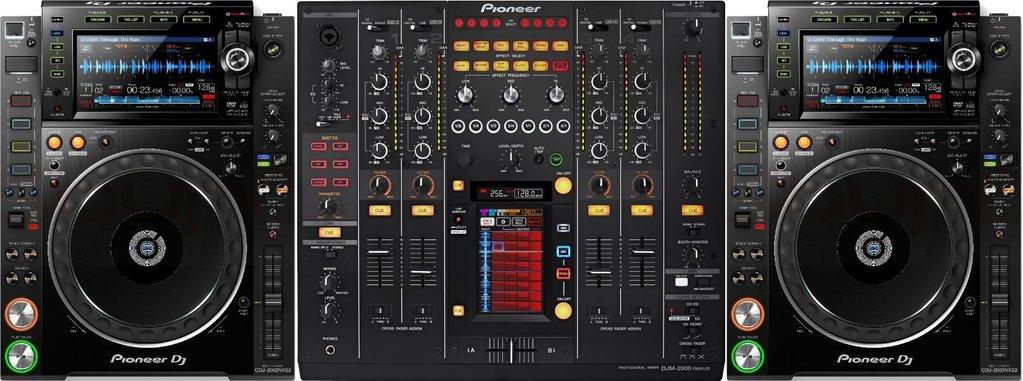 Set Pioneer 2 X Cdj 2000 Nxs2 Djm 2000 Nxs Sound 7