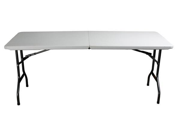 toolland table pliante 180 x 75 x 74 cm sound 7. Black Bedroom Furniture Sets. Home Design Ideas