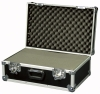 Universal flightcase with precutted foam filling