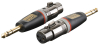 Adapter XLR female - Jack male stereo PRO