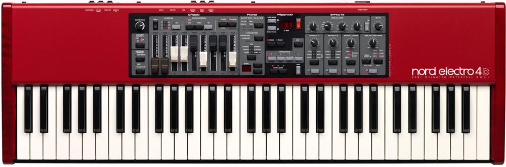 CLAVIA Nord Electro 4 D Sw 61 Keyboard Abdeckung von Viktory
