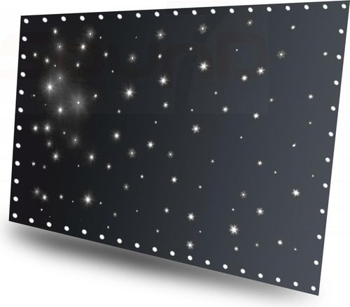 BEAMZ SparkleWall 3 x 2 m White